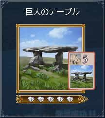 巨人のテーブル