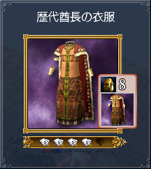 02_歴代酋長の衣服