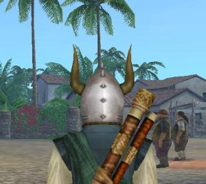 古代戦士の兜3