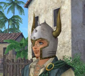 古代戦士の兜1