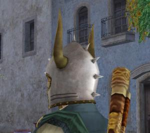 古代戦士の兜2