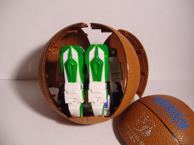 バスケットボール変形