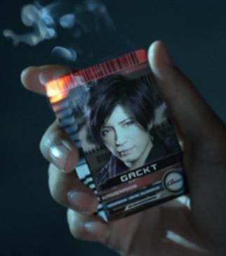 「ディケイド gacktカード」の画像検索結果