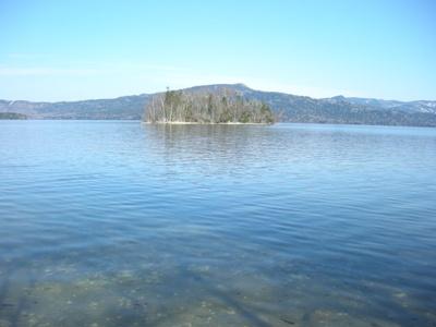 阿寒湖 島