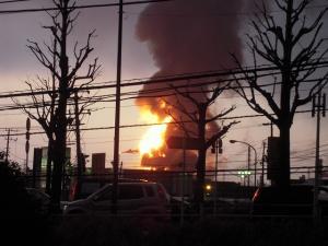 11日 地震火災 (2)