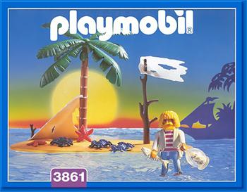 無人島_playmobil3861