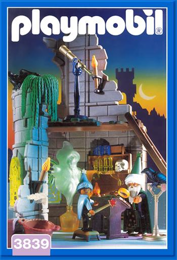 魔術師のワークショップ_playmobil3839