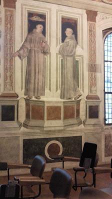 サン・ベルナルディーノ教会フレスコ画