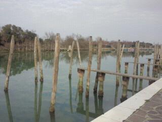 トルチェッロ島の杭