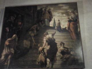 マドンナ・デッロルト教会のティントレット