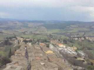 サン・ジミニャーノ グロッサの塔からの眺め