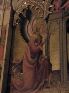 サンタ・トリニタ教会の受胎告知1
