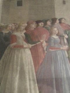 サンタ・トリニタ教会のギルランダイオ作品