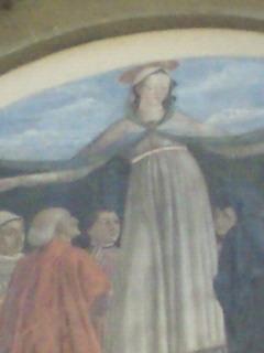 ギルランダイオ「慈愛の聖母」アップ