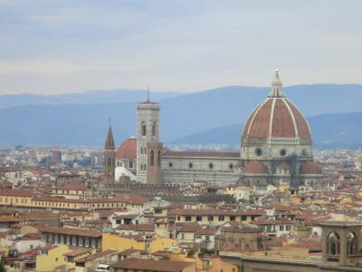 ミケランジェロ広場からのフィレンツェ