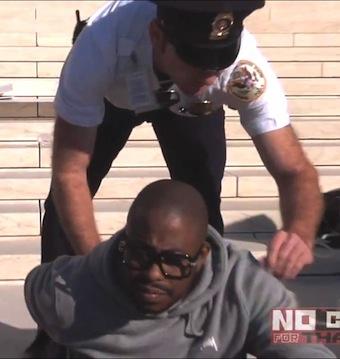 そんで逮捕の瞬間