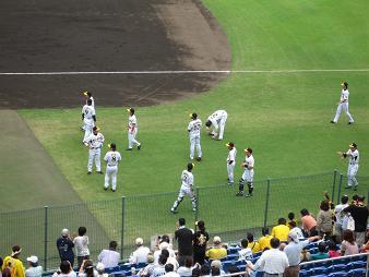 阪神の選手達