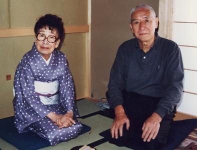宇野千代先生と横田伊三郎