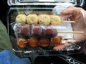 餅吉、お団子3種、美味!2