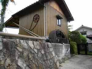 現役の水車、東広島市小田1