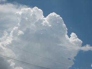 夏雲、入道雲2