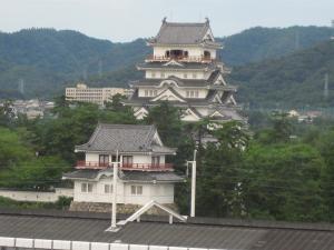 福山城、南側から