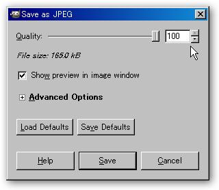 Save as JPEG