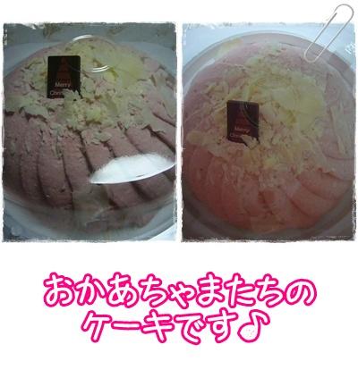人間用のケーキです★