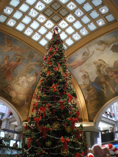ショッピングモール内のクリスマス2