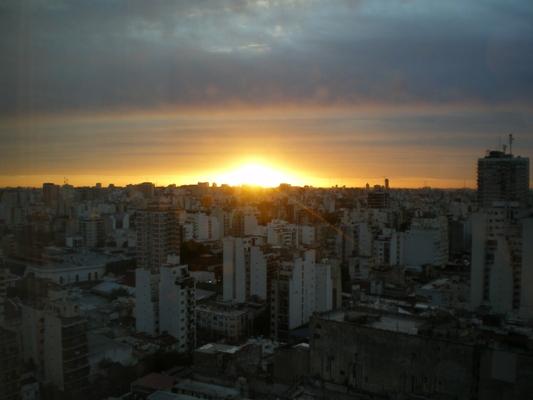 アルゼンチンの夕暮れ