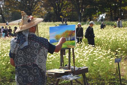 素敵な画家さん