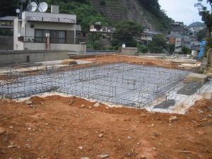 基礎工事鉄筋1