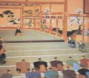 徳川幕府の馬鹿野郎解散の図 王立わんこ博物館所蔵