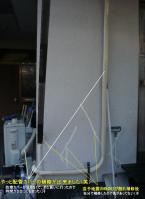エアコン配管カバーやり変え20111126-3