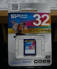 32GB SDHCclass10