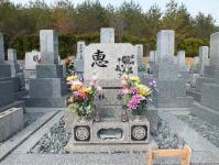 墓参り20120127-1
