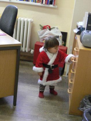 Julie Weihnachtsmann 2