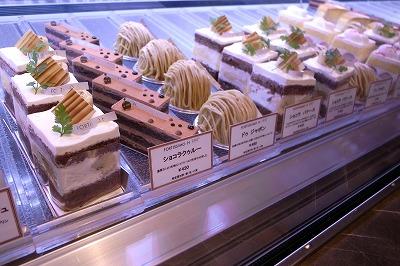 フォルテシモHショーケースケーキ