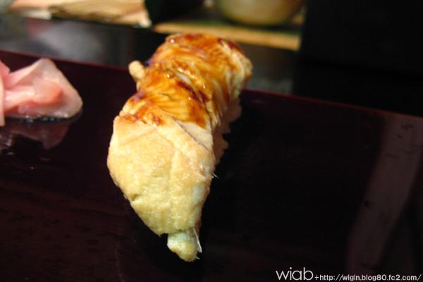 あと、穴子もここのホクホクで美味いんだよ。