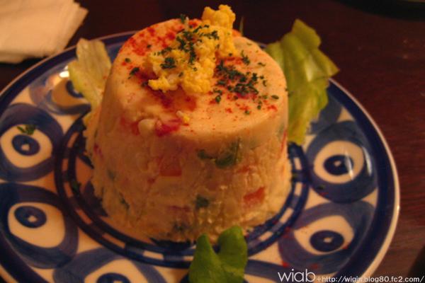 スペインで食べた時に意外と美味しかったのがこのスペインポテトサラダ☆ ここのも美味しかった!!