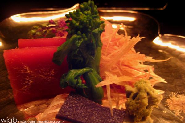 御造りは美味い。 基本的に日本料理で御造りまずいとこってあんま無いけどね・・・