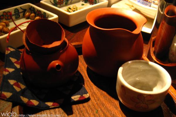 温かいウーロン茶