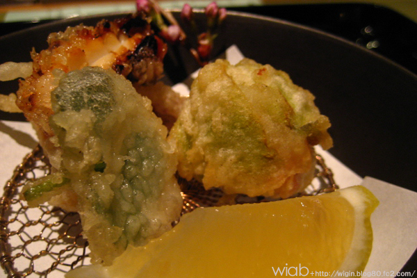 蛸や天麩羅類