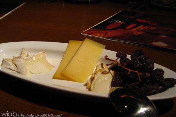 やっぱワインといえばチーズでしょ★