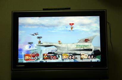 Wii 使用画面