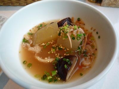 6.冬瓜と鶏のスープ