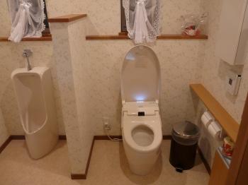 トイレの広さ