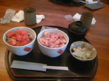 食べ比べ丼2
