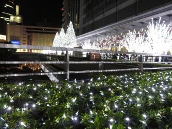 LEDの雪景色