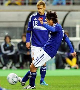 日本代表遠藤FKチャリティー